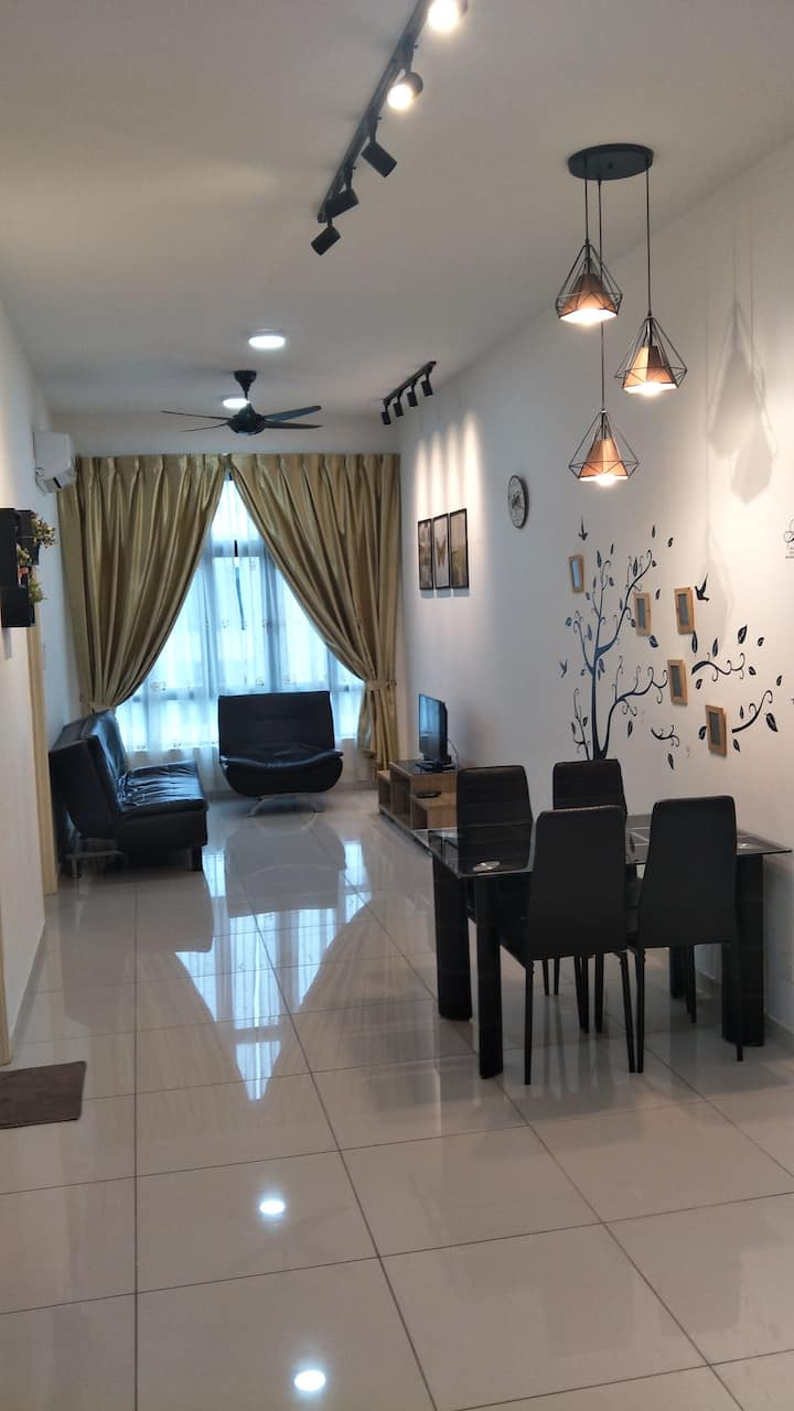 Amazing 09 D' Summit 2BR. Simple & comfortable