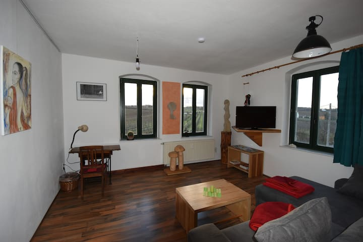 Great big flat 64 sqm, 10 km from Dresden, quite