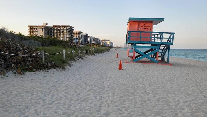 Habitacion con baño privado en Miami Beach 4
