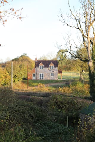 Peaceful, scenic, cosy cottage near Wells - Oakhill - Rumah