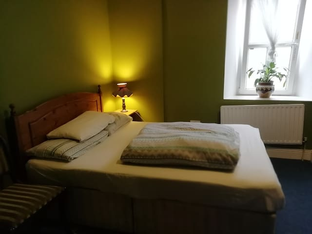 Double room at a friendly city centre hostel