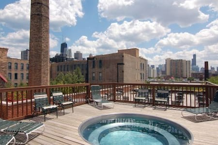 AMAZING Large Loft Style Studio in Chicago! - Chicago - Loft