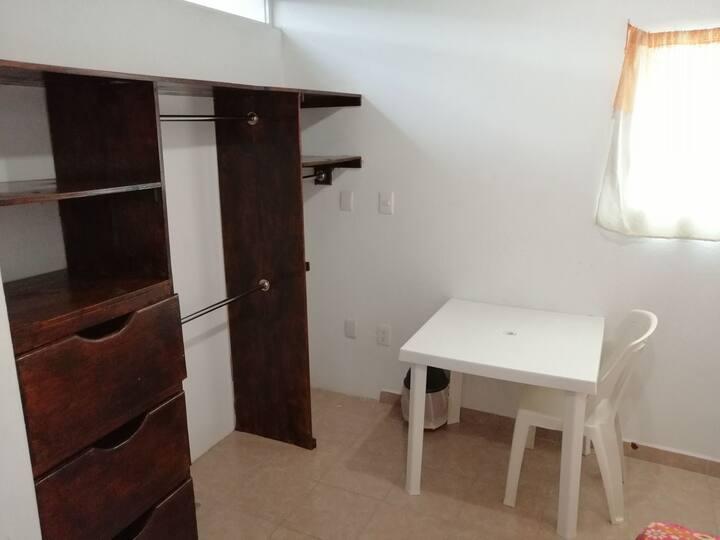 Habitación individual para señoritas