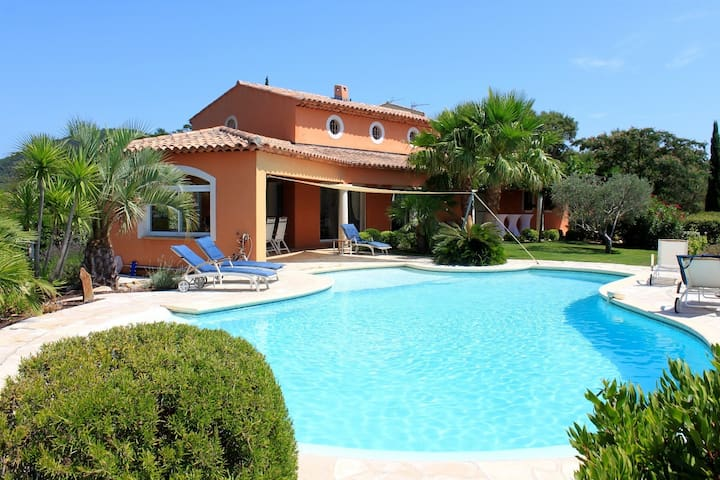 The Beautiful Villa - La Bigarade - La Londe-les-Maures - Rumah