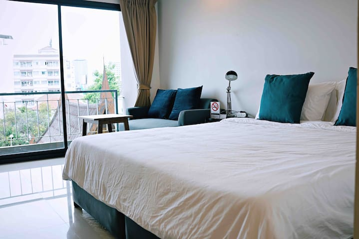 Cozy Apartment R403, 7 mins from MRT-Sutthisarn