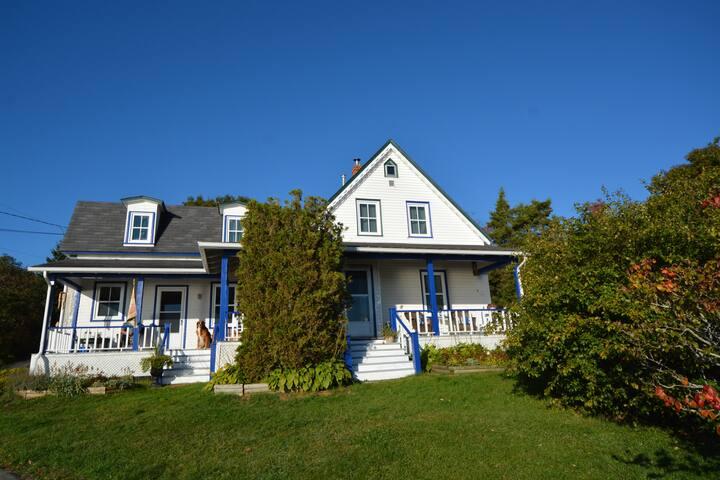 Iconic Nova Scotian Victorian seaside cottage