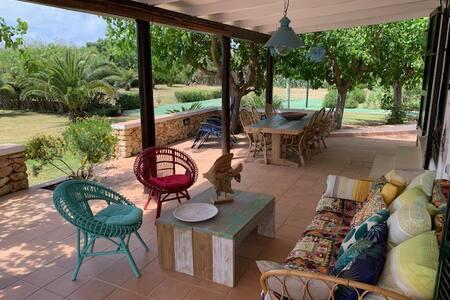 Villa in a peace place near the sea and mahon