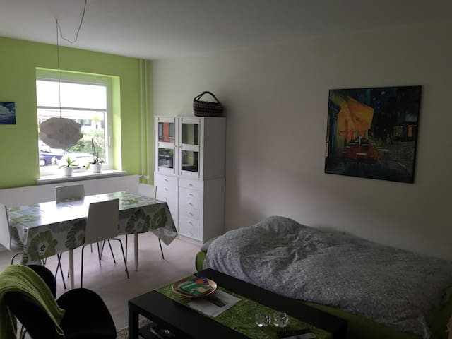 Private room with sleeping couch near the city - Rødovre - Daire