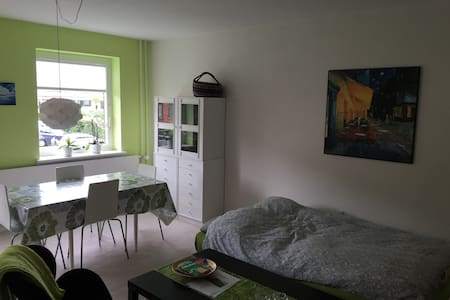 Private room with sleeping couch near the city - Rødovre - Квартира
