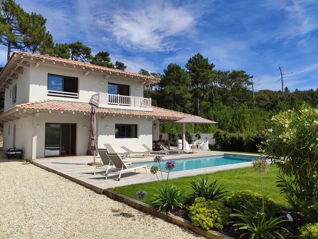 Villa neuve Pyla Moulleau proche plage piscine