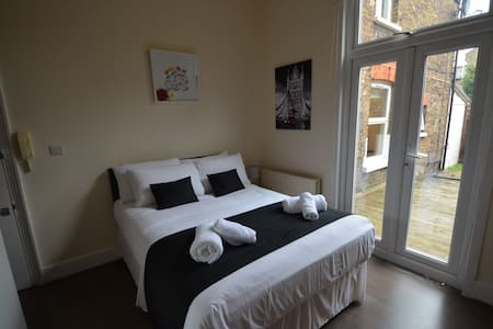 Modern Studio Flat London with Garden - London - Apartmen