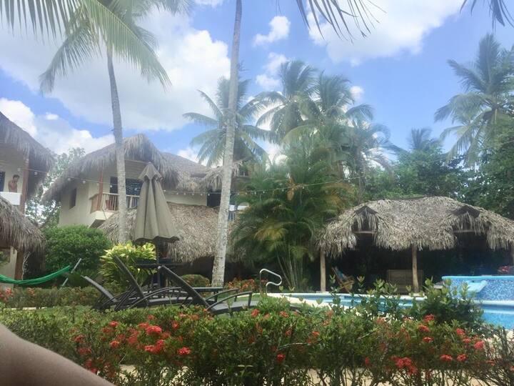 Casa Mana en Las Terrenas..Piscina compartida