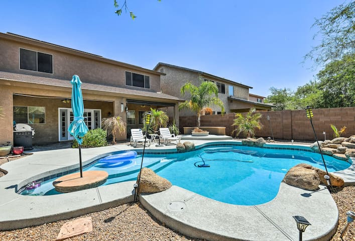 Luxury Maricopa Retreat with Private Pool & Patio!