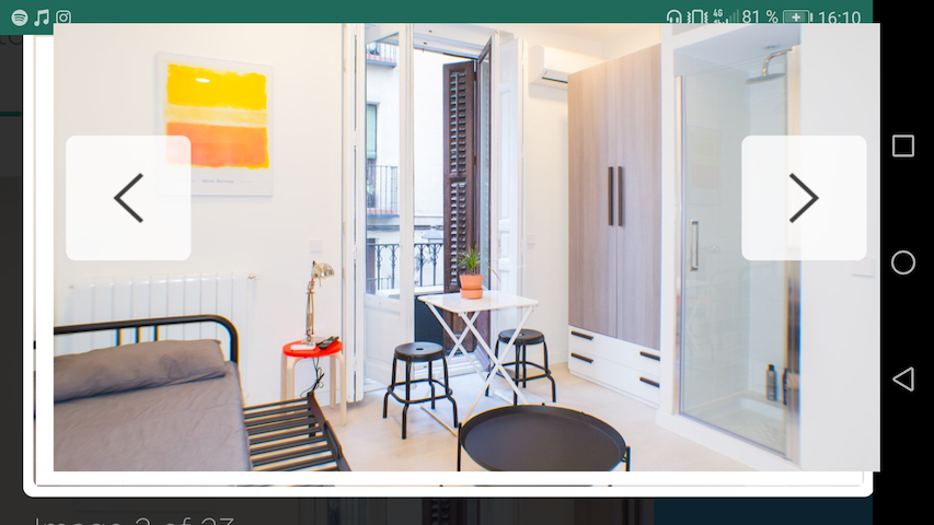 2 MALASAÑA! NEW, Trendy, cozy and bright studio! D