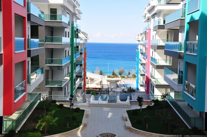 Luxury apartments Konak Seaside.