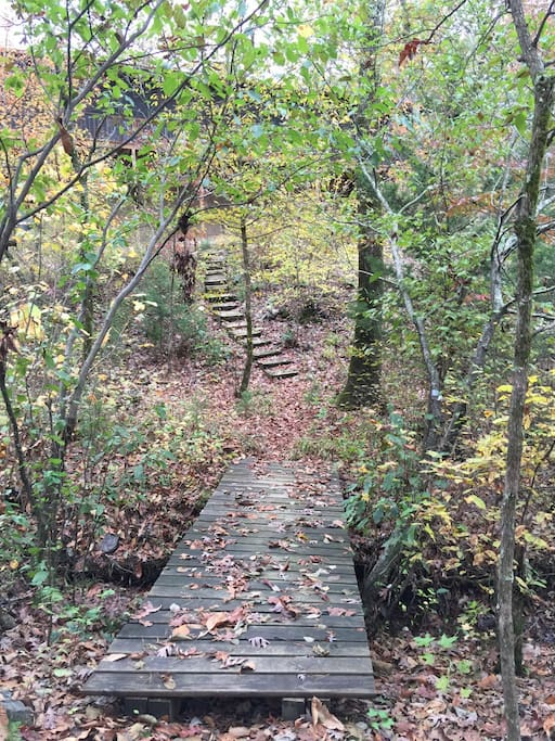 Hiking Trail on property is great for exercise.