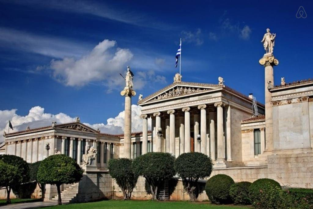 Near all the popular sights of Athens