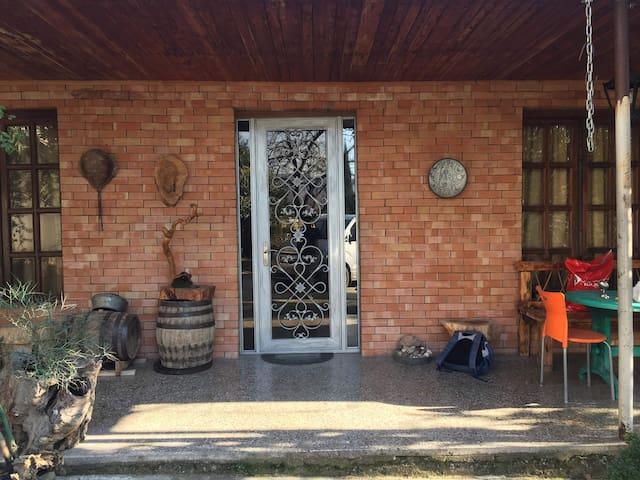 Дом Гиорги и тамари в авчале