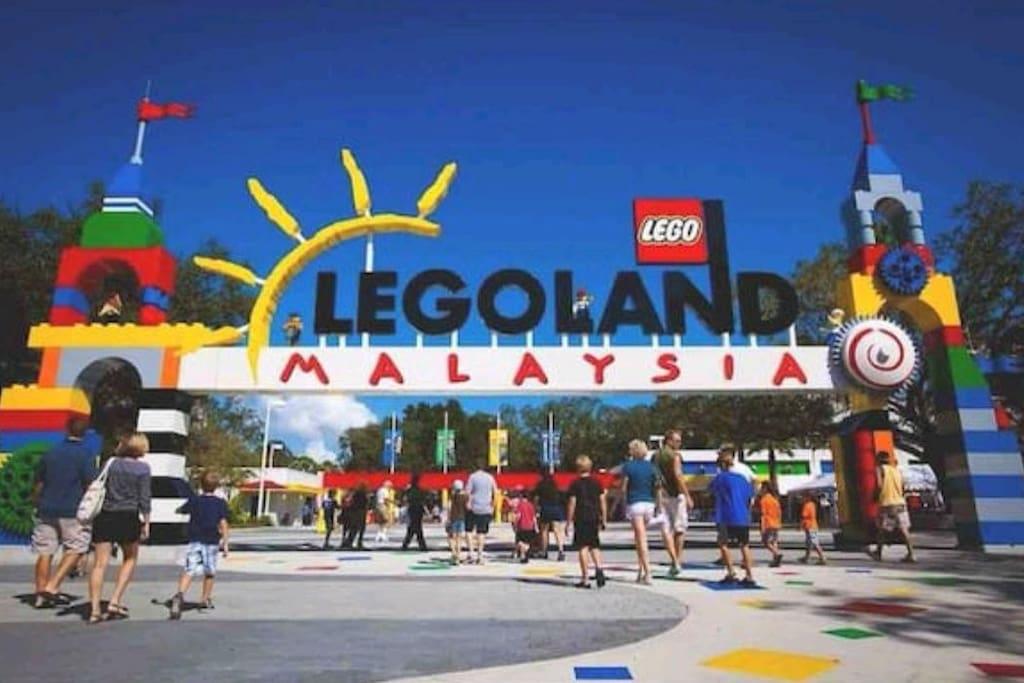 Legoland, just across the road, only a few mins walk from Afiniti Residences