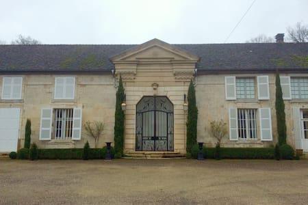 Château de Roches sur Rognon - Chambre Rouge - Roches-Bettaincourt - Château