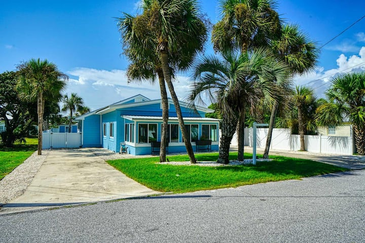 Newly Listed! Bid-A-Wee Home w/ Salt Water Pool; Steps from the Beach