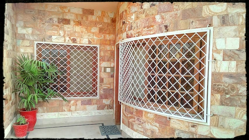 Red Stone House ............  (Entire first floor)