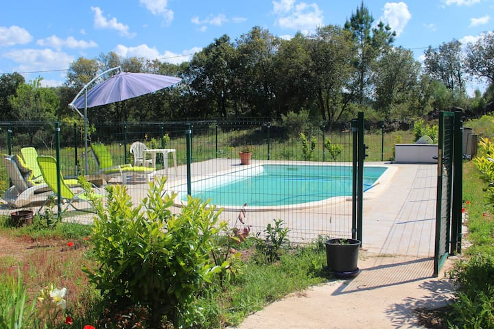 Villa with 2 bedrooms in Bédarieux, with private pool, furnished garden and WiFi - 48 km from the beach