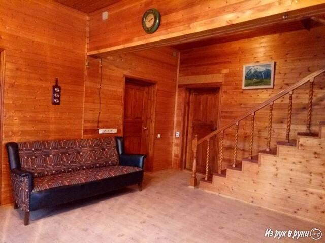 Дом на  Клязьминском водохранилище