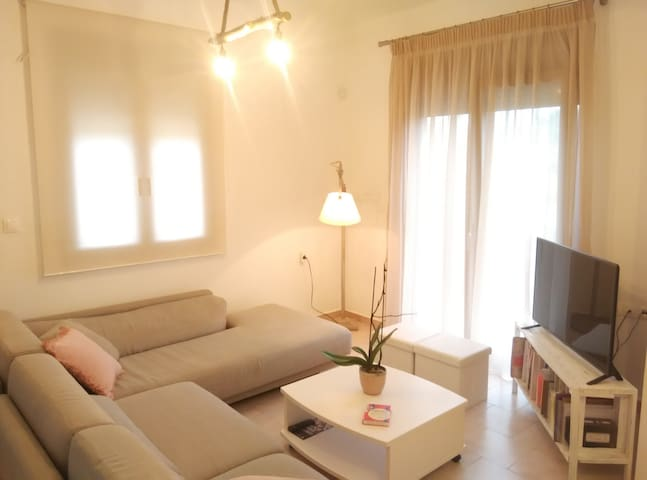 Ground floor apartment 30 meters from the sea - Platanias - Apartment
