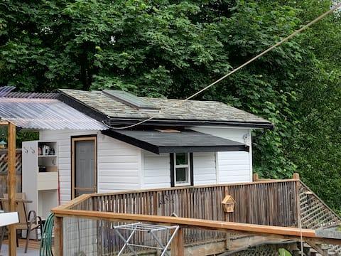 Bilbo's Tiny House in  1425 Chilco Rd.Crofton, BC