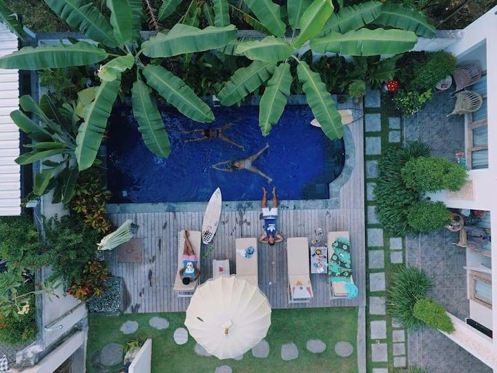 The Spare Room Bali - Canggu #1- 70% DISCOUNT
