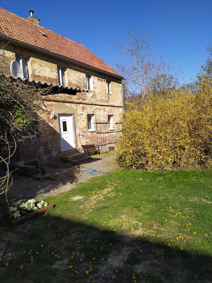 Idyllische Landwohnung in altem Bauernhof