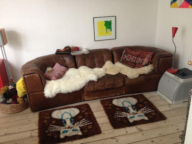 Artistic & colourful  apartment.