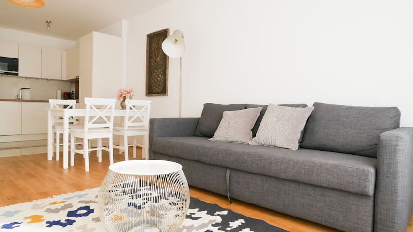 Beautiful new Apartment near Danube River 70,76m²
