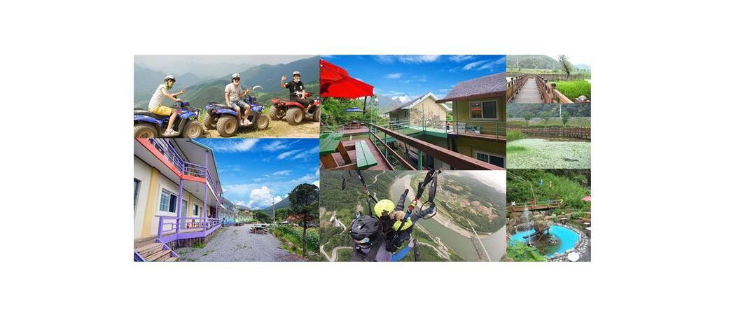 충북 단양 힐링스토리 펜션 B동 101호 - Gagok-myeon, Danyang-gun - Villa