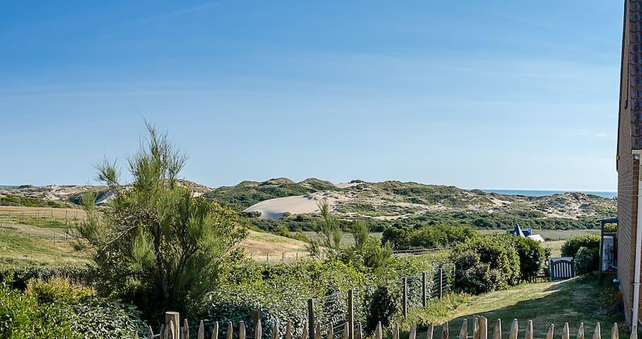 Villa vue mer et dune 9 personnes à Ambleteuse