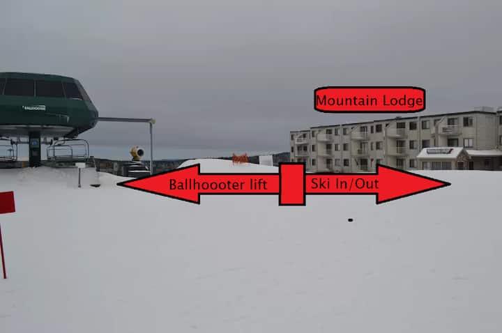 1st flr, village, Mnt Views, Ski In/Out slps 6