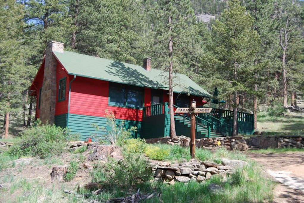 Faraway Cabin Cabins For Rent In Estes Park Colorado