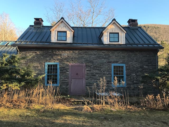 18th Century Stone House on 160 Private Acres