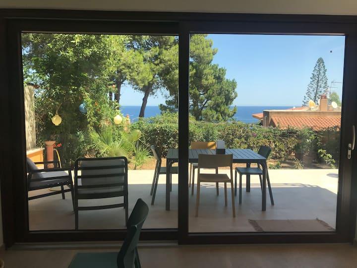 Villa mit Garten in Scopello, 200 m vom Strand
