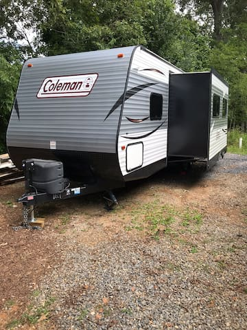 Glamping Camper by Smith M Lake & Rosies Casino!
