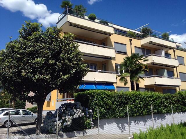 Ferien im sonnigen Tessin, Schweiz - Ascona - Huis