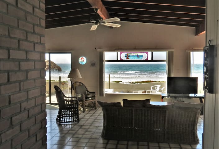 Beachfront Family Home With Room To Relax...