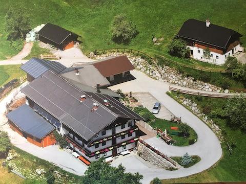 Gusti's Urlaub am Bauernhof mit Panoramablick