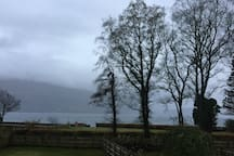 Not always perfect weather but beautiful views in all weathers.