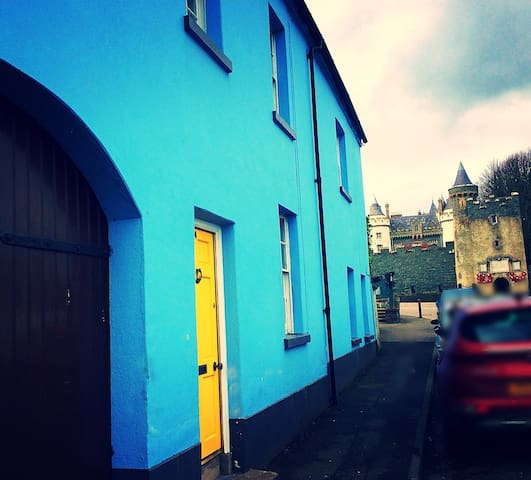 The Blue House Killyleagh.