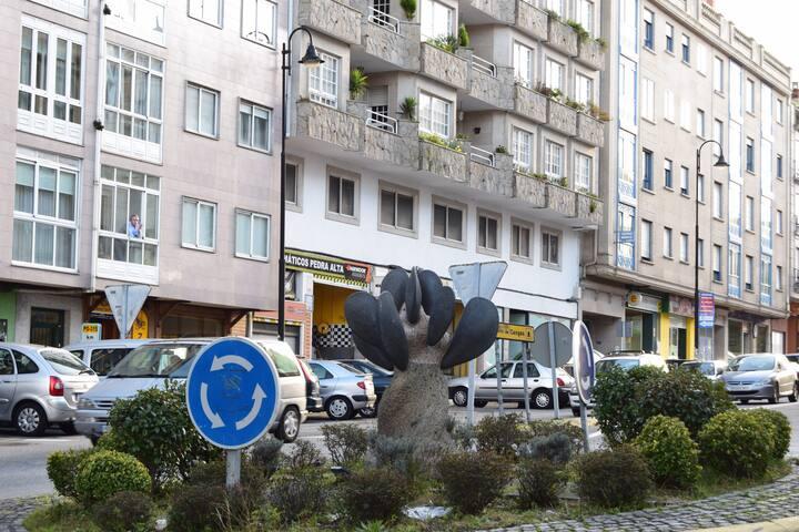 amplio piso Cangas - Cangas - 아파트(콘도미니엄)