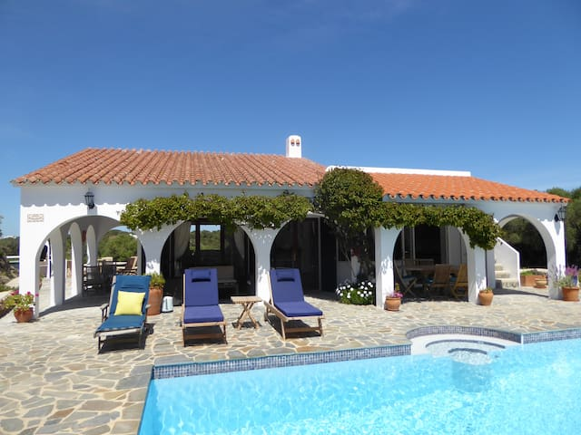Secluded villa  in Natural Park - Es Grau