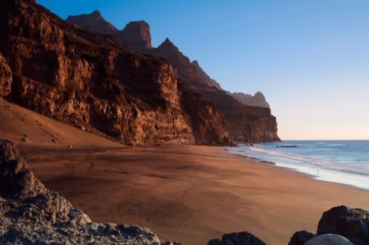 Cabaña de playa pequeña