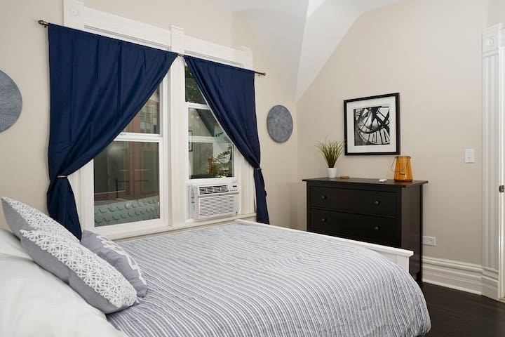 Private bedroom in awesome location!